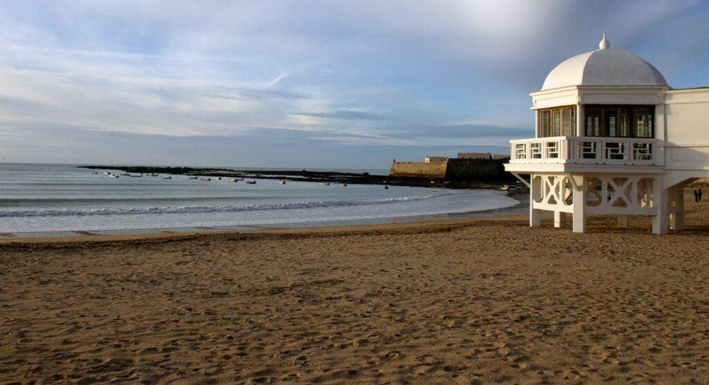 Playa de la Caleta - Cosas que ver en Cádiz