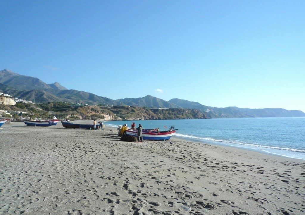 BURRIANA mejores playas de la Costa del Sol