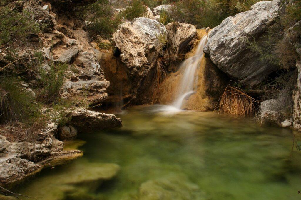 Descenso Río Verde cascada